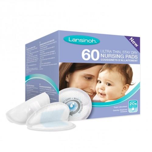 Coussinets d'allaitement jetables Lansinoh, boîte de 60
