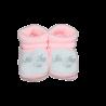 Chaussons de naissance tricot