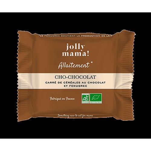 Carré de céréales bio CHO-CHOCOLAT Jolly Mama