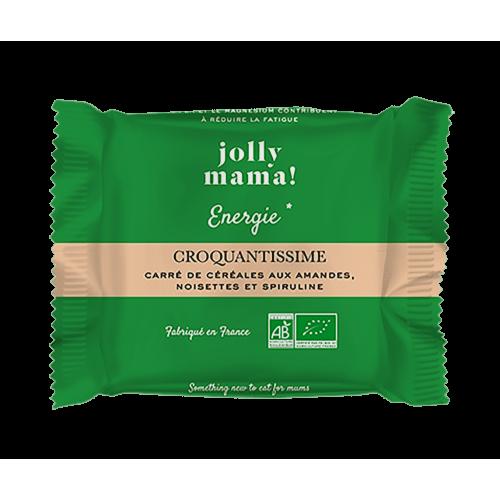 Carré de céréales bio CROQUANTISSIME Jolly Mama