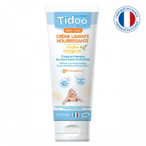 Crème lavante nourissante Tidoo