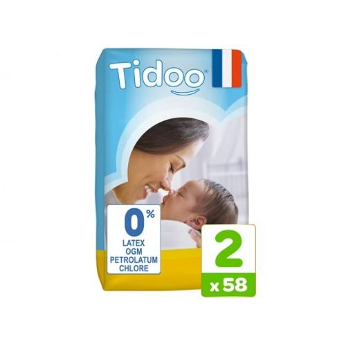 Couches écologiques Tidoo (Taille 2 à 6)